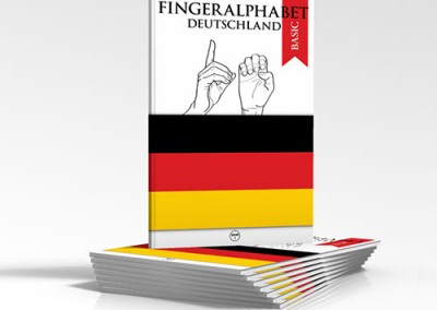 Fingeralphabe -Detschl and-Handbuch