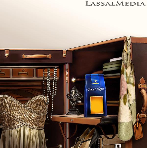 LassalMedia - Key Visual for Tchibo Privat Kaffee