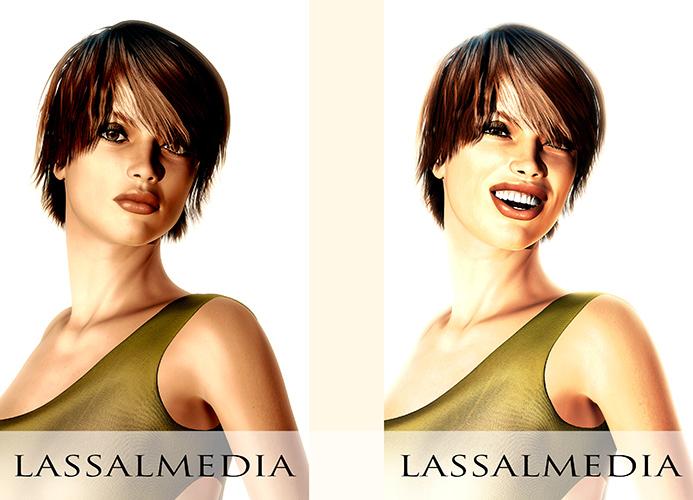LassalMedia / Beauty Portrait Mimic / Animatic