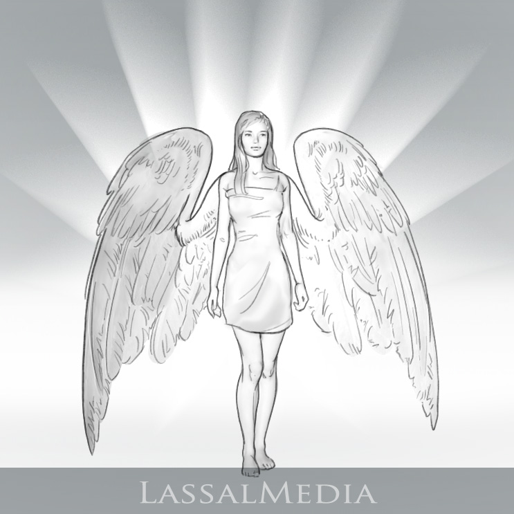 LassalMedia – angel apparitions taken from 2 different storyboards for Nivea
