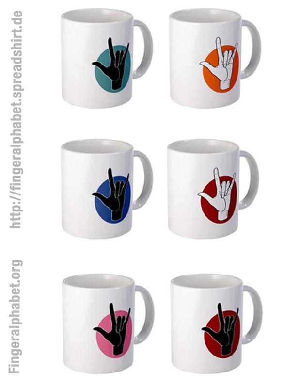 Designs for Fingeralphabet-org shop