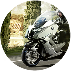 Photorealistic Key Visuals for a BMW Scooter Campaign