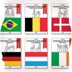 Sign Language Alphabet Reference Books / International