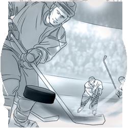 Storyboard for Nivea for Men (Beiersdorf) – Ice Hockey Theme