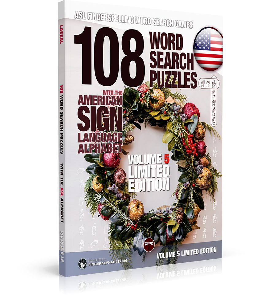 36 Word Search Puzzles with the American Sign Language Alphabet: Volume 02
