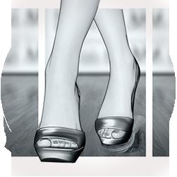 Storyboard for Scholl (Reckitt Benckiser): Shoe Cabinet